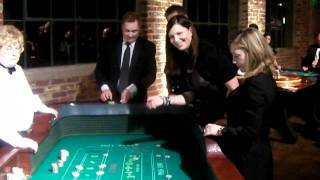 British-american Business Group (babg) Gala 2011 - Craps Table Players