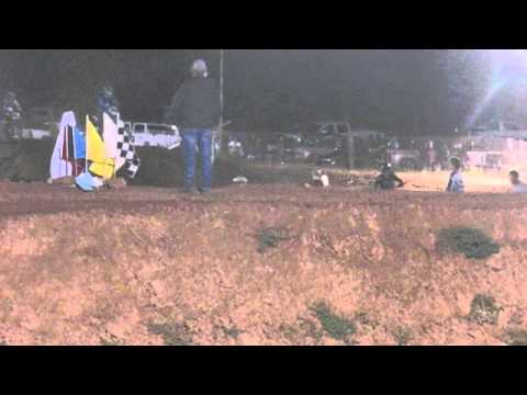 Tyler Pitman's Little Okie crash