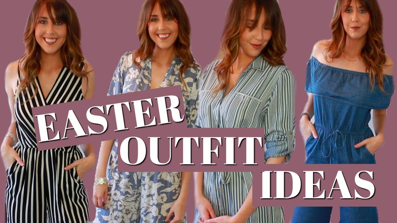 [VIDEO] - EASTER OUTFIT IDEAS 2018- SPRING OUTFIT IDEAS - T.J. MAXX & MARSHALLS HAUL! 2