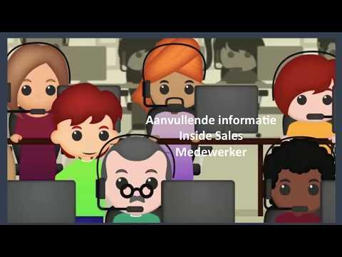Aanvullende informatie Inside Sales Amsterdam