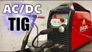 TIG 200 AC/DC ESPECTACULAR!! INOX, ALUMINIO