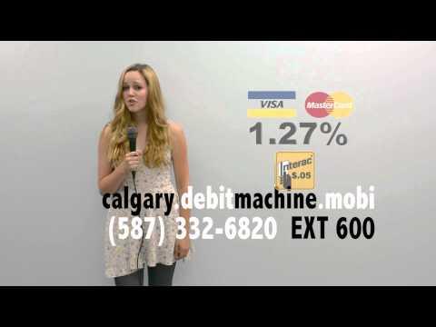 Calgary Debit Machine Buy For $275