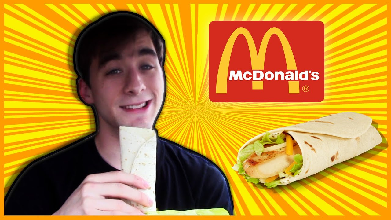 Mcdonald S Ranch Snack Wrap The Food Review Ep 80 Youtube