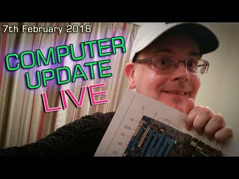 COMPUTER UPDATE NEWS - LIVE ENGLISH - LATE and LIVE - 7th February 2018