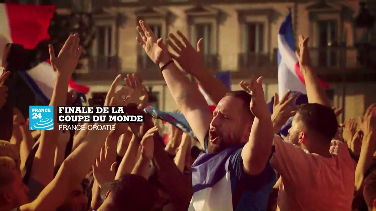 Finale De La Coupe Du Monde France Croatie Youtube