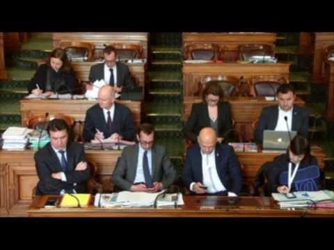 Question d'actualité de Jean-Baptiste de Froment au Conseil de Paris - Mars 2017