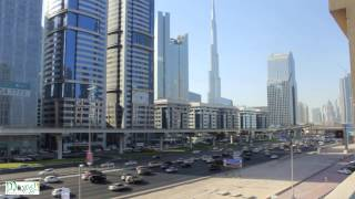 Dubai Burj Khalifa Traffic Time Lapse Video