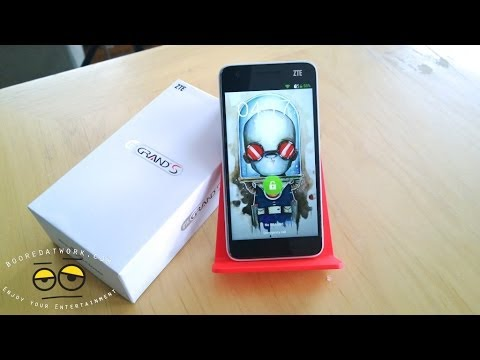 ZTE Grand S Unboxing