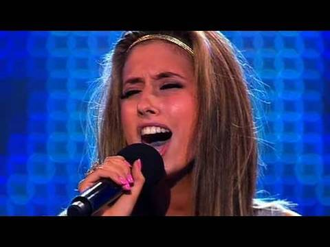 The X Factor 2009 - Stacey Solomon - Bootcamp 2 (itv.com/xfactor)