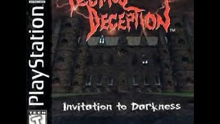Quick Look | Tecmo's Deception 1 : Invitation to Darkness (1996) -   PlayStation 1 HD