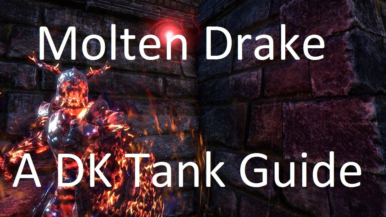 ESO] Molten Drake - Dragonknight Tank Guide - LoterkESO