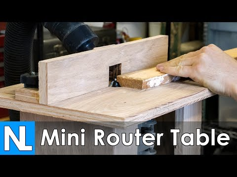 How to make a Mini Router Table // Woodworking DIY