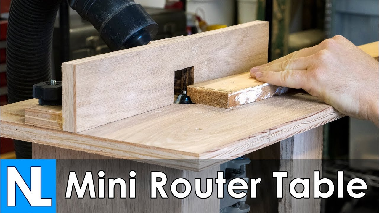 Mini router table woodworking diy youtube mini router table woodworking diy keyboard keysfo Image collections