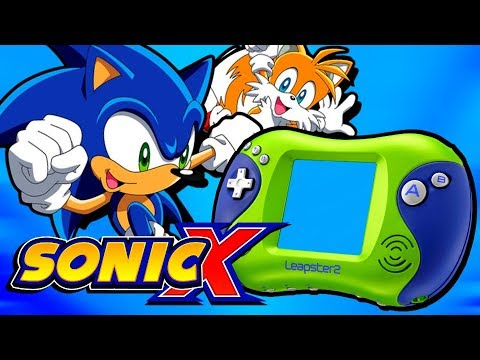 The Sonic X Leapster Game