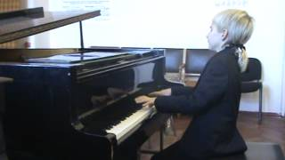 Handel Capriccio in G minor, HWV 483, plays Alexander Denisov