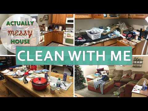 Extreme Clean with Me 2018 l Daily Cleaning Motivation l Actual Messy House