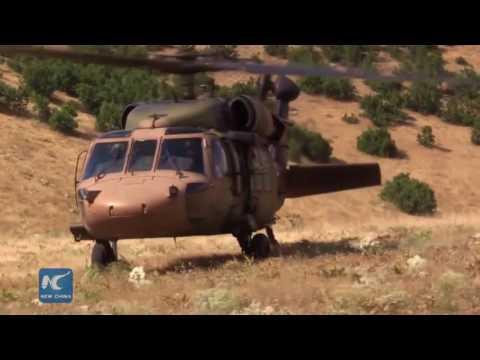 Turkish troops kill 55 PKK militants in raids