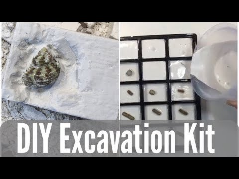 DIY ARCHAEOLOGY KITS | HOW TO MAKE AN EXCAVATION BLOCK