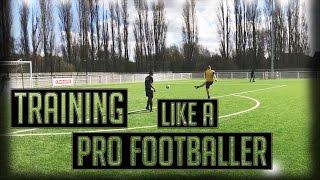 Training like a pro footballer // kieran brown