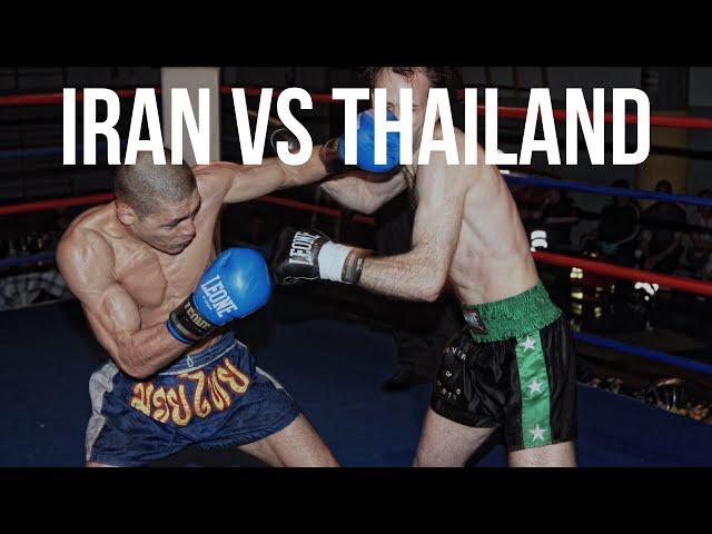 Iran vs Thailand: Boxing in Bangkok