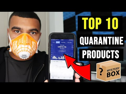 TOP 10 QUARANTINE DROPSHIPPING PRODUCTS TO SELL RIGHT NOW