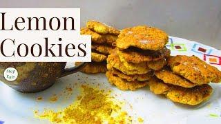 Lemon Cookies | How to make Lime Cookies | Cookies recipe | Step Eats |