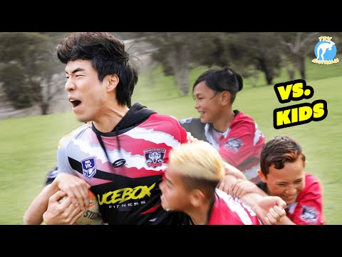 The Try Guys Try Rugby League • Try Australia