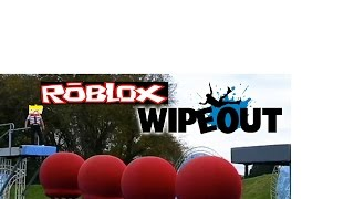 I GOT MAD!!!! - Roblox wipeout obby