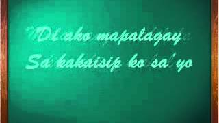 Bakit Labis Kitang Mahal with Lyrics by Dingdong Avanzado YouTube