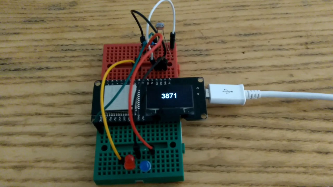 ESP32 With Integrated OLED (WEMOS/Lolin) - Getting Started Arduino
