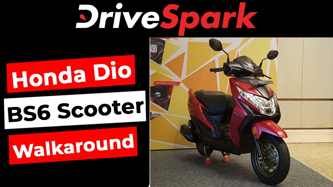 Honda Dio Bs6 Launched In Bangalore Walkaround Prices Specs