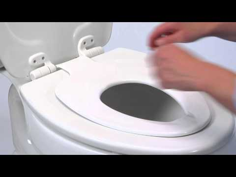 potty seat for elongated toilet. Church NextStep  Built in Potty Seat Toilet YouTube
