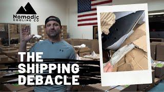 The Shipping Debacle 07.28.21 #vanlife #batterypoweredac #offgridliving