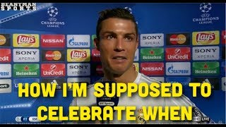 Ronaldo Tells why he didn't Celebrate after scoring against Barcelona