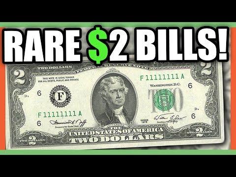 $2 DOLLAR BILLS WORTH MONEY - RARE MONEY TO LOOK FOR IN CIRCULATION!!