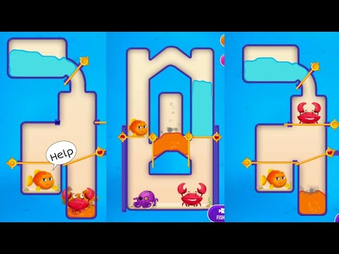 Save The Fish ,fishdom Game Android Gameplay Walkthrough