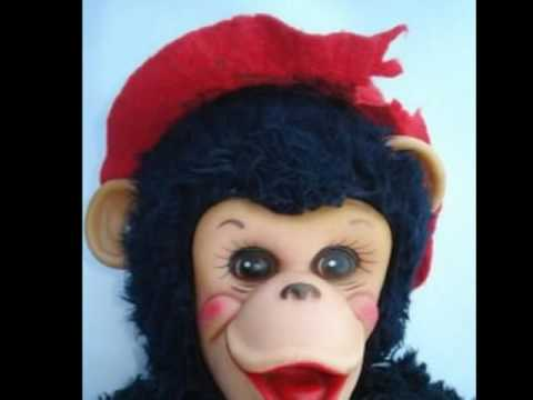 Vintage stuffed Toy Monkeys