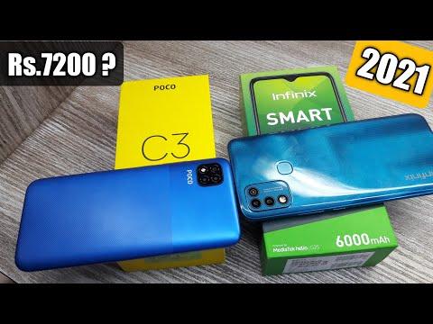 Infinix Smart 5 vs Poco C3 – Which Should You Buy ?