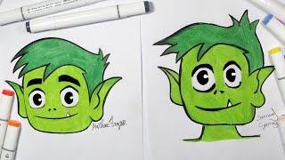 Art Challenge - Desenhando Com O Meu Primo