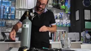Green Aqua - A CO2 rendszer összeállítása