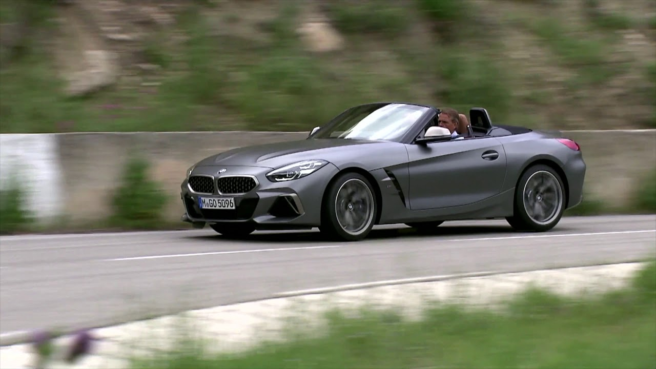 New 2019 G29 Bmw Z4 Driving Scenes