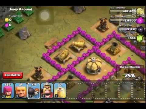 Coc single player walkthrough: lvl 45 jump around
