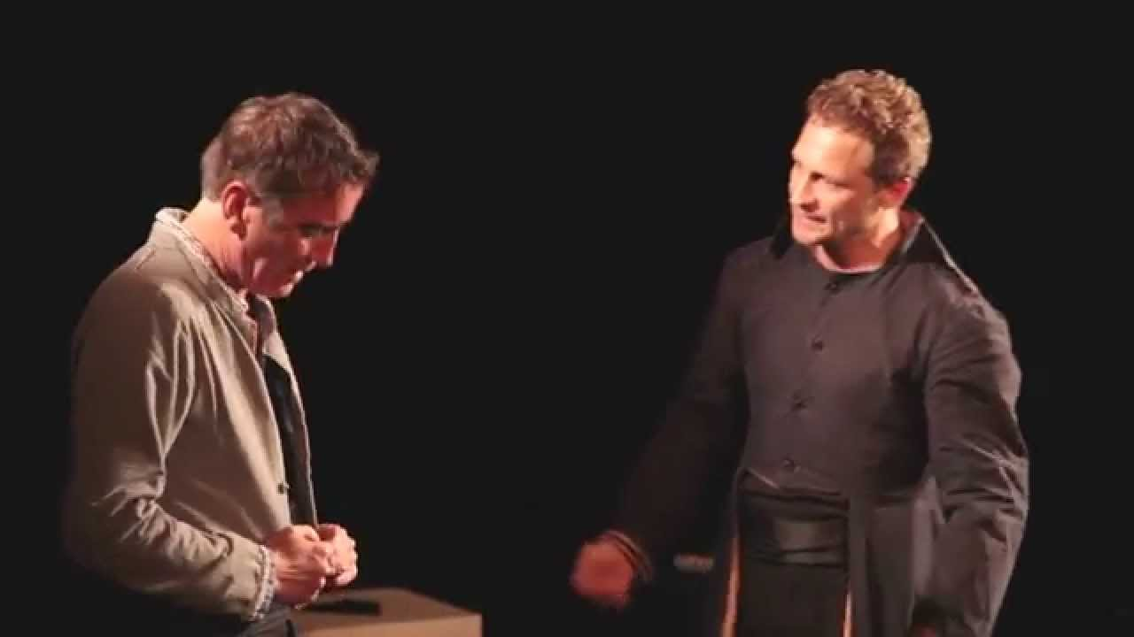 Le Misanthrope - Acte 1 scène Alceste et Philinte - YouTube
