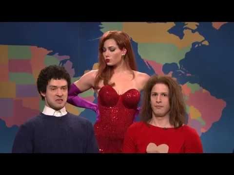 SNL 'Jessica Rabbit' - Jessica Biel, Justin Timberlake, Andy Samberg, Seth Meyer