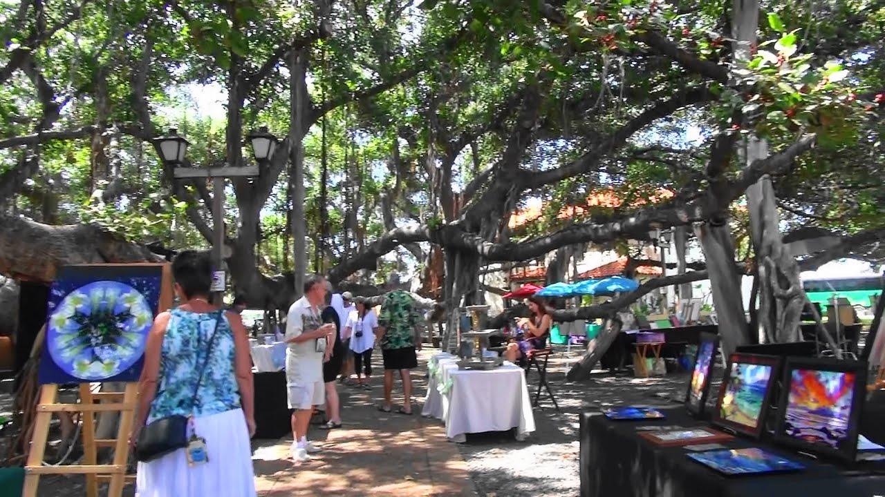 Lahaina Banyan Tree Craft Fair