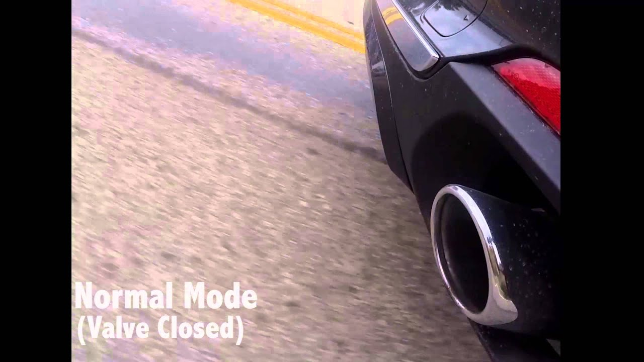 2015 Bmw X5 F15 Open Closed Exhaust Valve Demonstration Youtube
