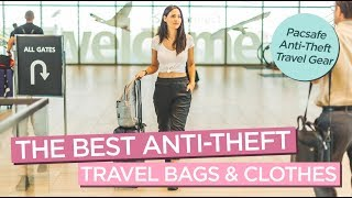 Travel Safe with These Anti-theft Travel Bags and Clothes from Pacsafe