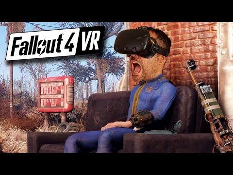 FALLOUT 4 VR | HTC Vive gameplay en Español #1 | Movimiento y Controles