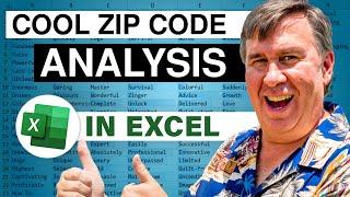 Cool Ways to Analyze Zip Codes In Excel - Episode 2285