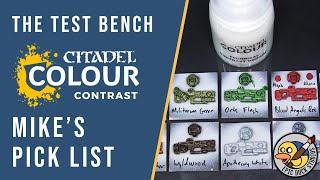 Testing CONTRAST Paints by Citadel - Full Review & Mike's Picks
